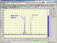 Нажмите на изображение для увеличения.  Название:IMD 2 частоты  2 смесителя__17dBm.PNG Просмотров:746 Размер:67.9 Кб ID:225166