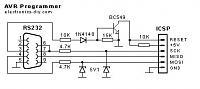Нажмите на изображение для увеличения.  Название:avr_programmer_schematic.jpg Просмотров:620 Размер:14.9 Кб ID:163738
