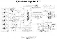 Нажмите на изображение для увеличения.  Название:Synthesizer on Mega 2560.JPG Просмотров:18842 Размер:860.8 Кб ID:252345