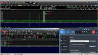 Нажмите на изображение для увеличения.  Название:Qo-100 beacon and carrier R5AU.PNG Просмотров:208 Размер:389.8 Кб ID:318630