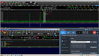 Нажмите на изображение для увеличения.  Название:Qo-100 beacon and carrier R5AU.PNG Просмотров:262 Размер:389.8 Кб ID:318630