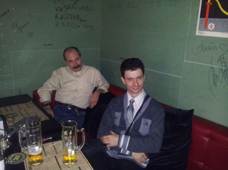 """R3ACG и RW3ACQ в кафе """"Припой"""""""
