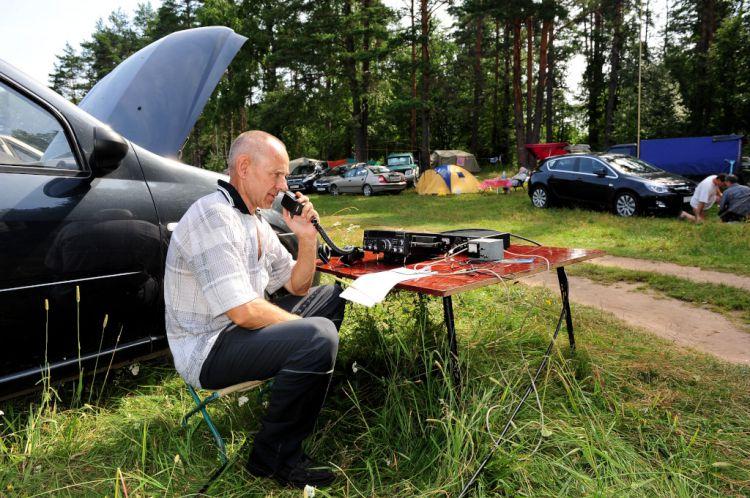 Слет радиолюбителей Валдай 2011