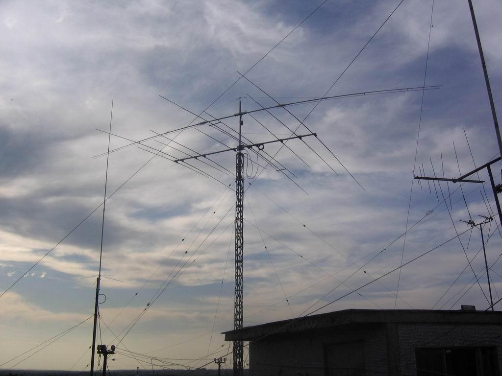 Поворотный диполь на 40 метров своими руками