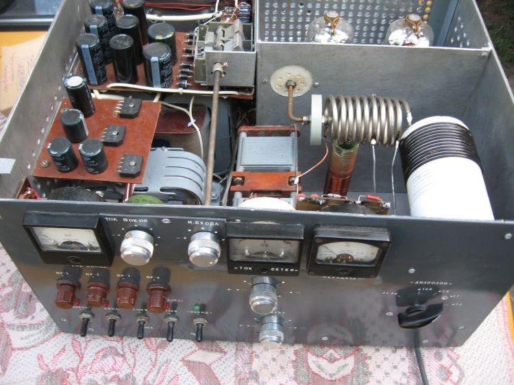 УМ на лампе ГК-71 (ГУ-13) - Усилители мощности ВЧ - Схемы ...