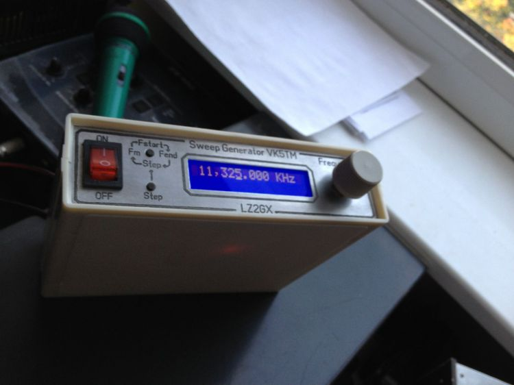 Sweep Generator  VK5TM   от  LZ2GX