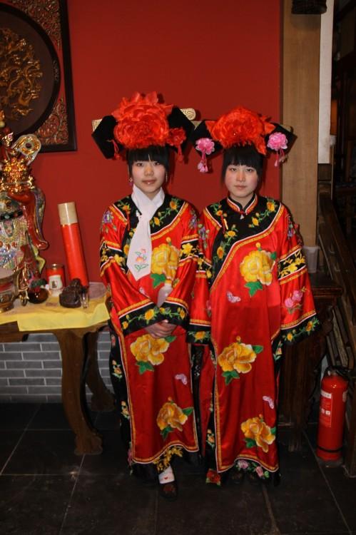 Девушки в Пекине, Новый Год,  2010.