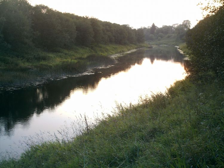 Река Могоча. Вечер.