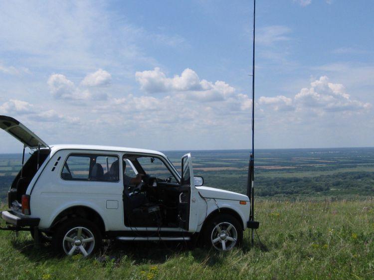 R6DR проверка антенны STEALH-9360