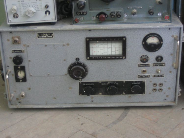 VU-2 приемник до 200мГц