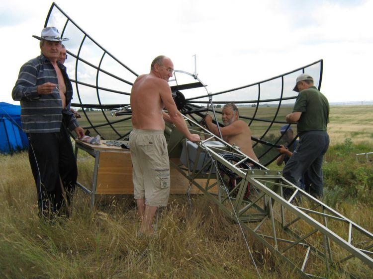 Полевой день 2012г. Команда RW7A/6. LN08bb, Зверево.