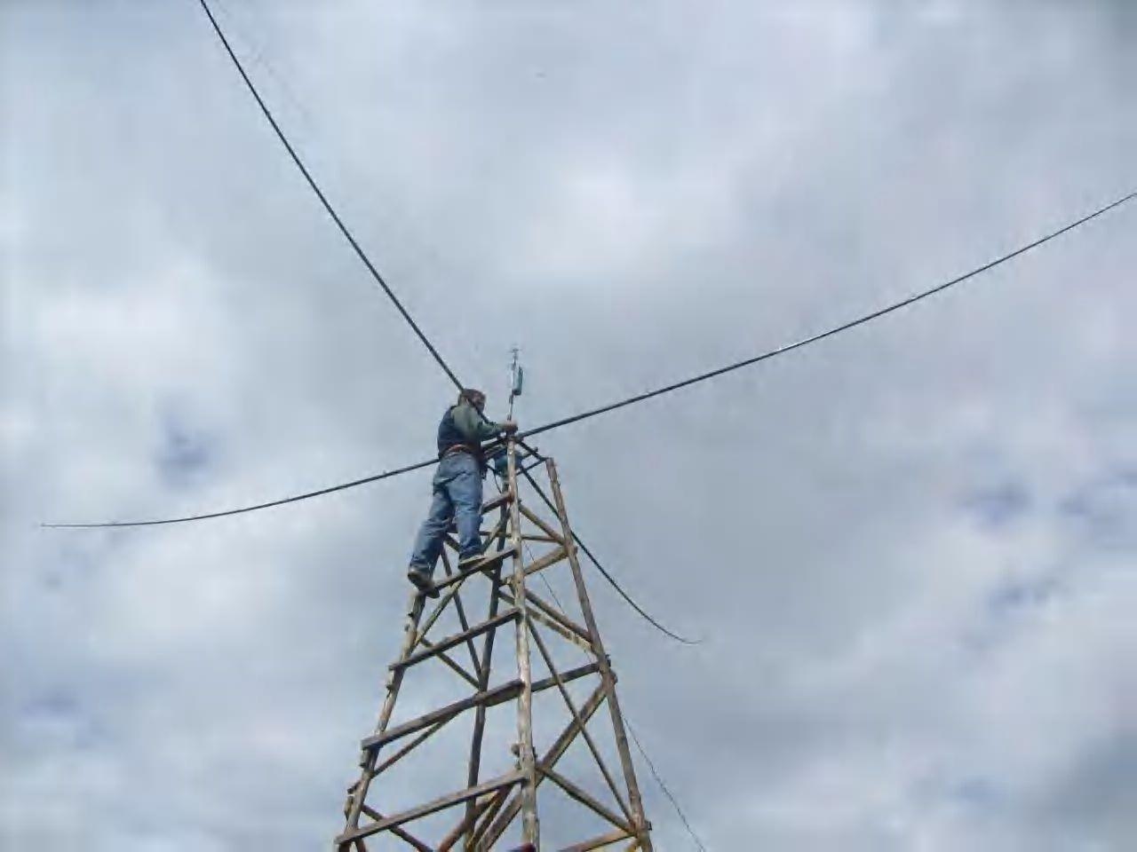 Выдвижная мачта для антенны своими руками