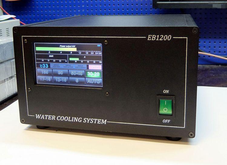 КВ 1200 Вт на BLF188 водяное охлаждение