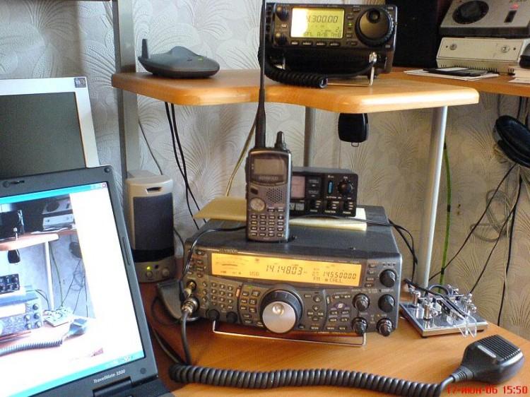 TS-2000 TH-D7a Ic-706