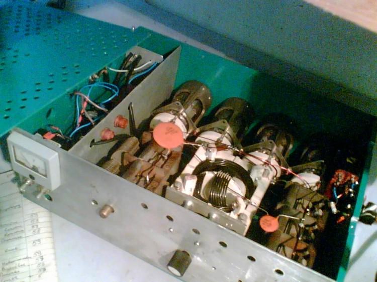 Схема усилителя мощности на 4-х гу-50 с возбуждением в сетку - Исскуство схемотехники.