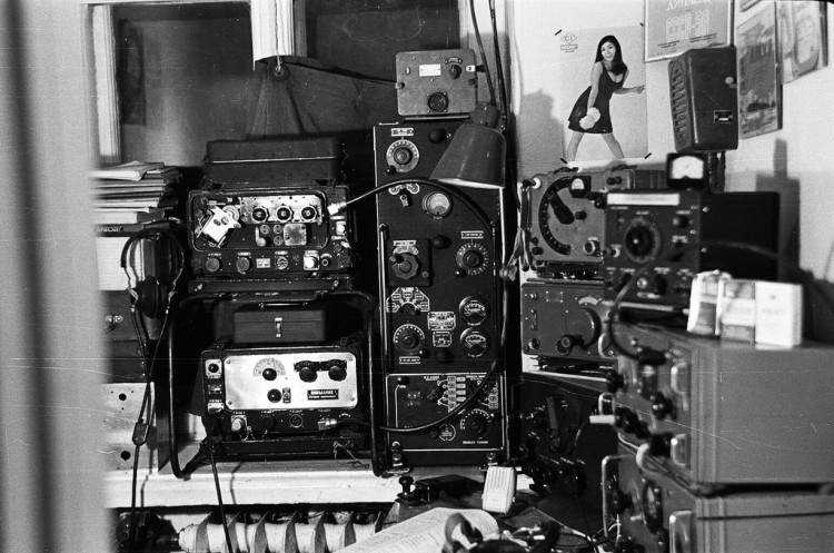 Ретро-радио Александра - UA0AAM. 1968 год.