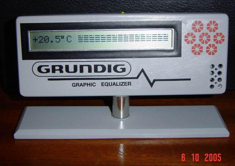 Бытовой термометр с графикой.      LY2BOK