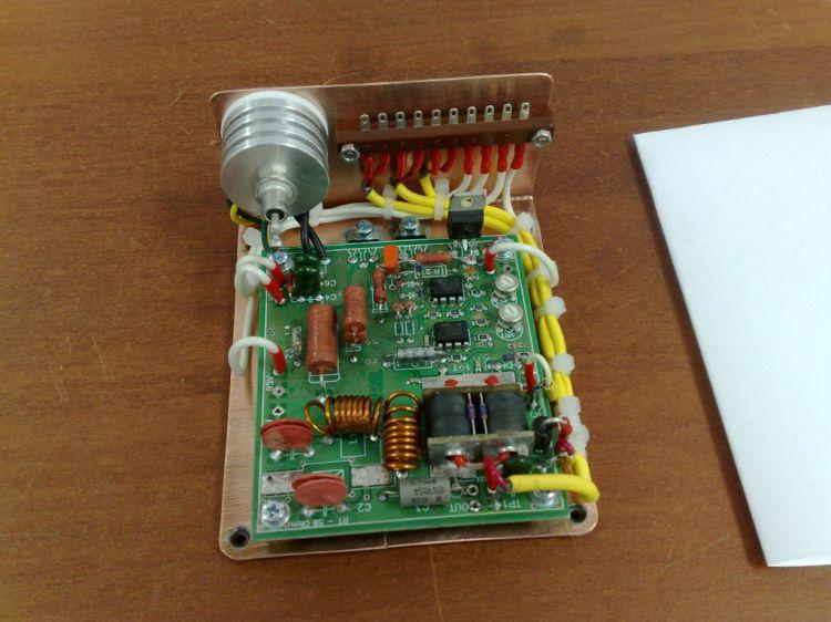 Плата регулировки тока покоя лампы по огибающей РЧ сигнала