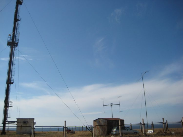 KN65FJ VHF EME DXpedition US8ZAL,UY5HF,UR5ZEW