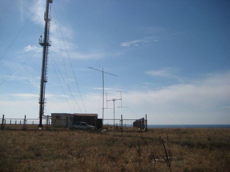 KN65FJ VHF EME DXpedition US8ZAL,UY5HF,UR5ZEW