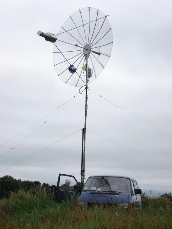 Позиция 1296 MHz. RW3WR FD-2006