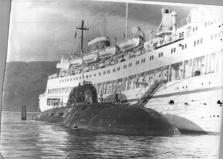 Первое после войны госпитальное судно