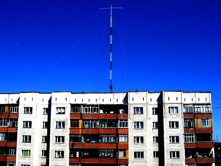 UA9JDP-Поставил новую антенну.
