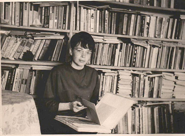 1960-е. Царенко (тогда Чистова) Зинаида. UA3SJ