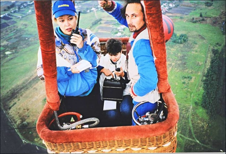 В эфире с воздушного шара. RA0BM, RA3FB/3, RV3ACA