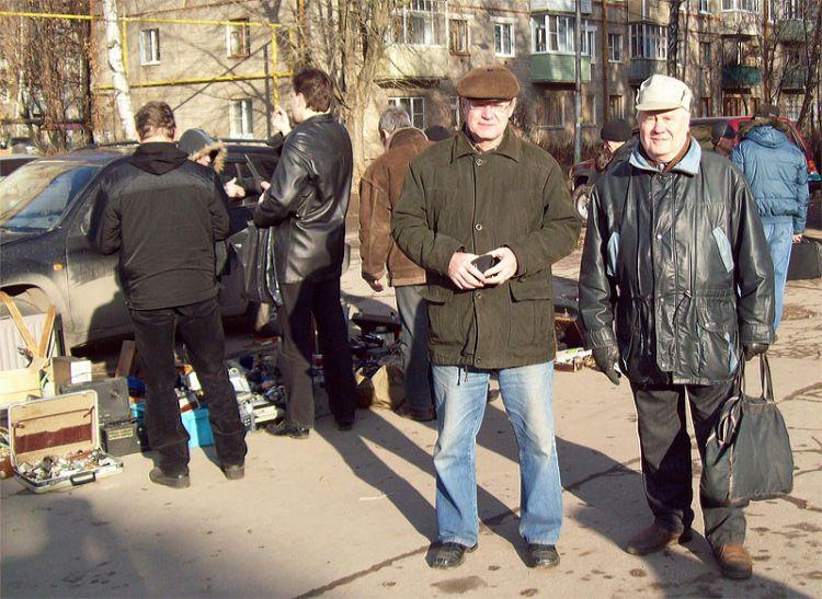 UA3SAC Бикбулатов Анатолий (Silent Key) и RA3SA Лукьянов Борис (Silent Key)