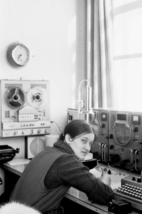 1979.Фаина Мелина (new RA3SP). Полярная станция острова Гейберга