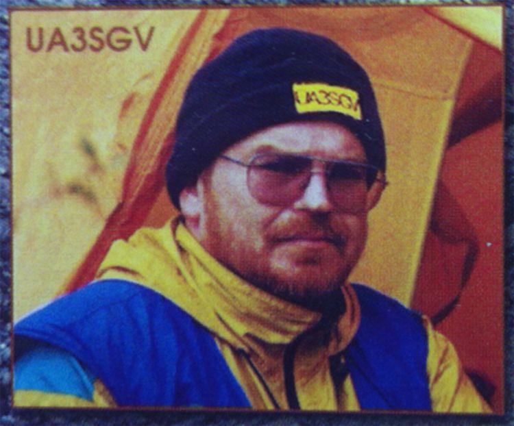 UA3SGV Блинушов Андрей. Горная р/экспедиция. 2002