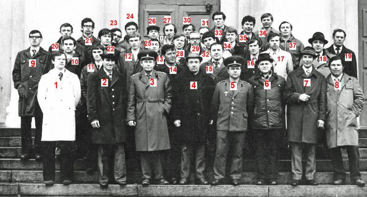 XX-летие UK3SAB/UA3KND коллективки Рязанского Радиоинститута (РРТИ). 1976.