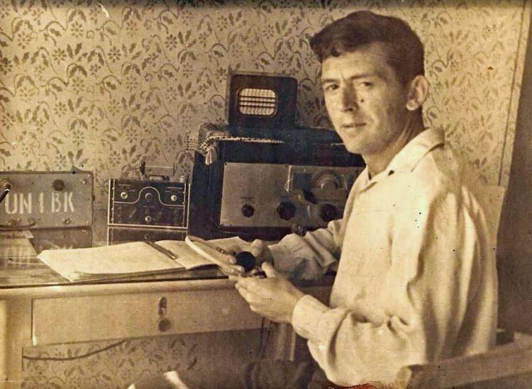 1960-е.Коваленко Виктор Иванович  UN1BK, UA1XY, new UA3SAA. SK