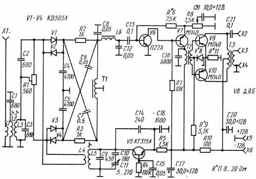 иж ю 4 схема - Практическая схемотехника.