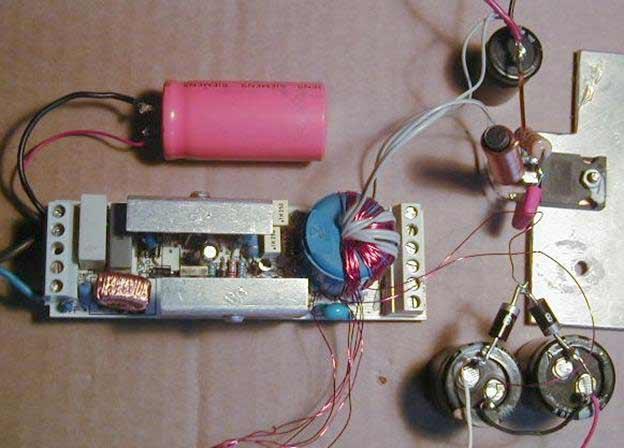 Схема подключения трансформатора для галогенных ламп источники питания светодиодов схема трансформатора h06t40. схема...