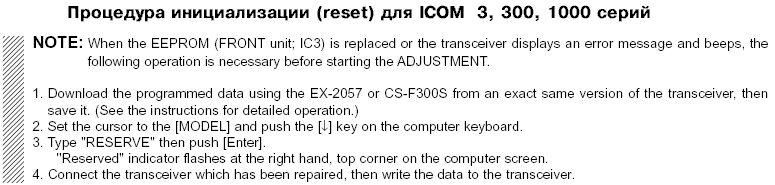 Icom RS-746 REMOTE CONTROL