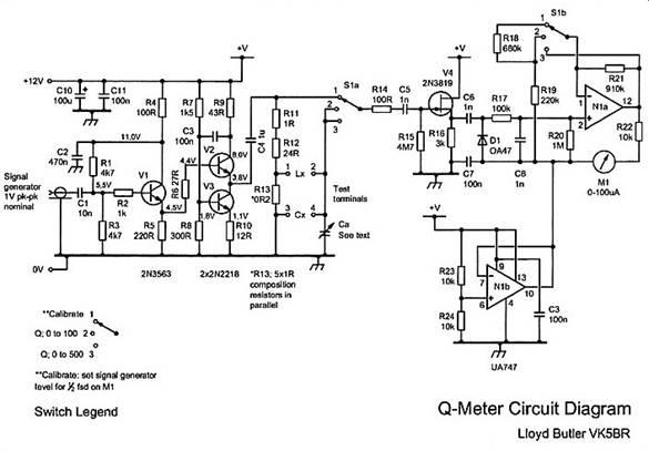 Схема Q- метра.