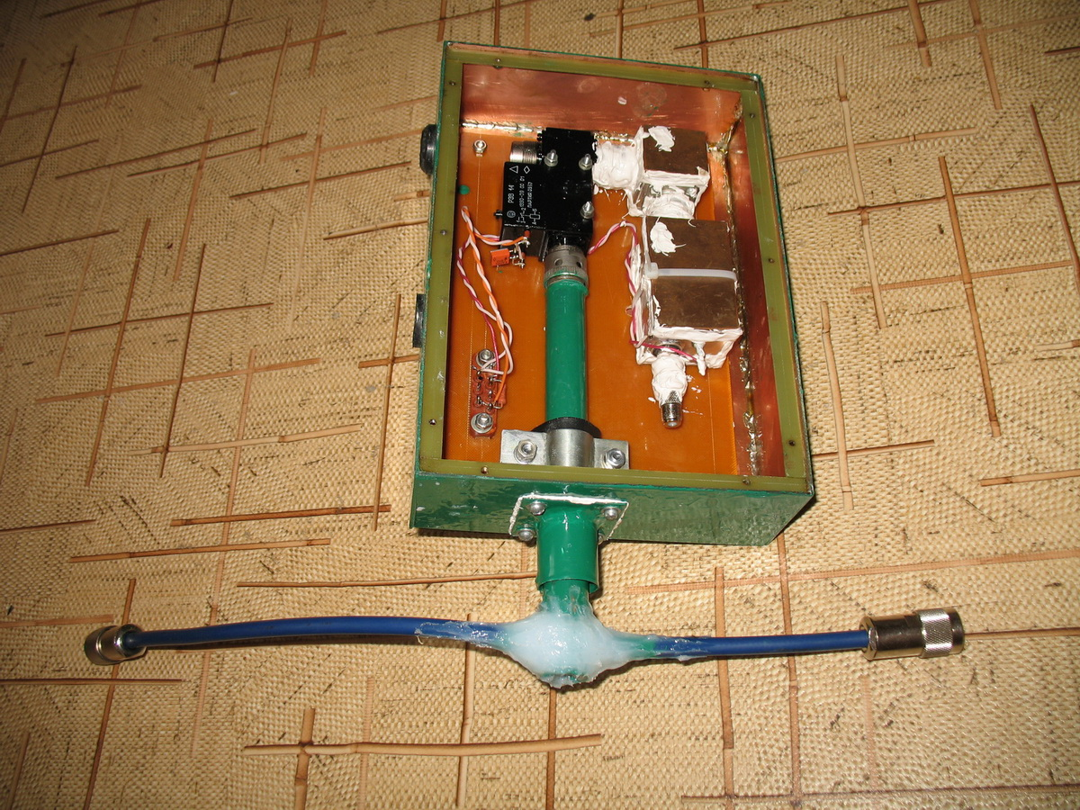 Полосовой МШУ диапазона 144 МГц
