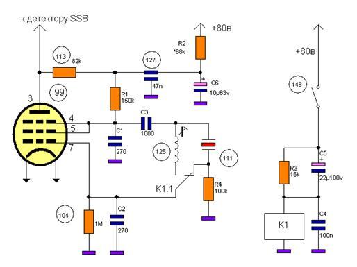 Принципиальная электрическая схема Электрическая схема схема радиоприемника принципиальная схема и.