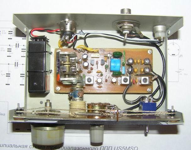 Катушки приемника L1-L4