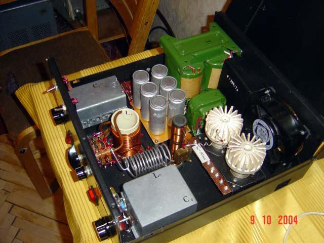 Усилители мощности кв на радиолампах
