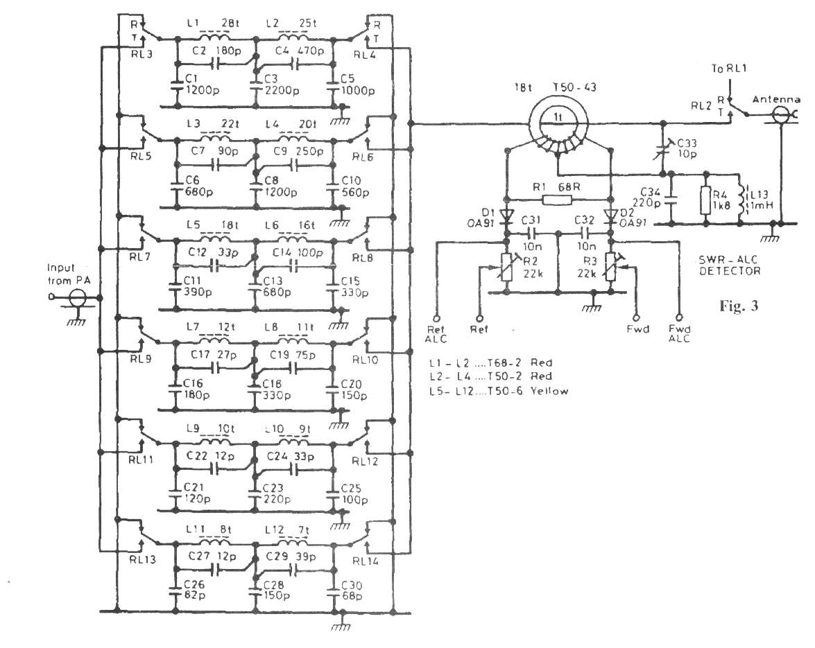 Rf Linear Amplifier Schematic Trusted Wiring Diagram Home Radio 15w 30w Power Kt922 Kt930 Kt934 100w Hf Qro Circuit