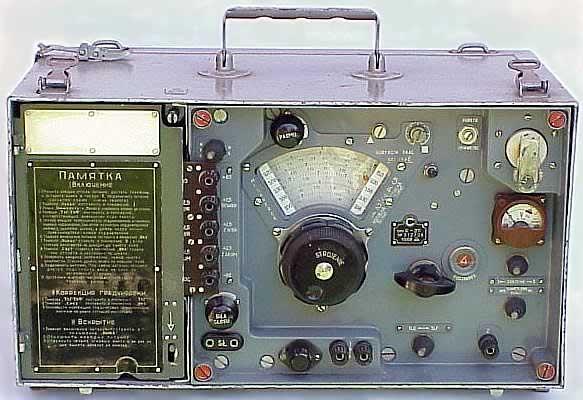 Радиоприёмник выполнен по супергетеродинной схеме на восьми лампах типа.