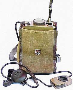 Радиостанция точно называется Р-105, но у нас их уже не было, а были Р-392.  Она значительно легче...